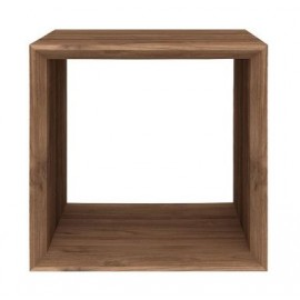 Cube Closed Side Table